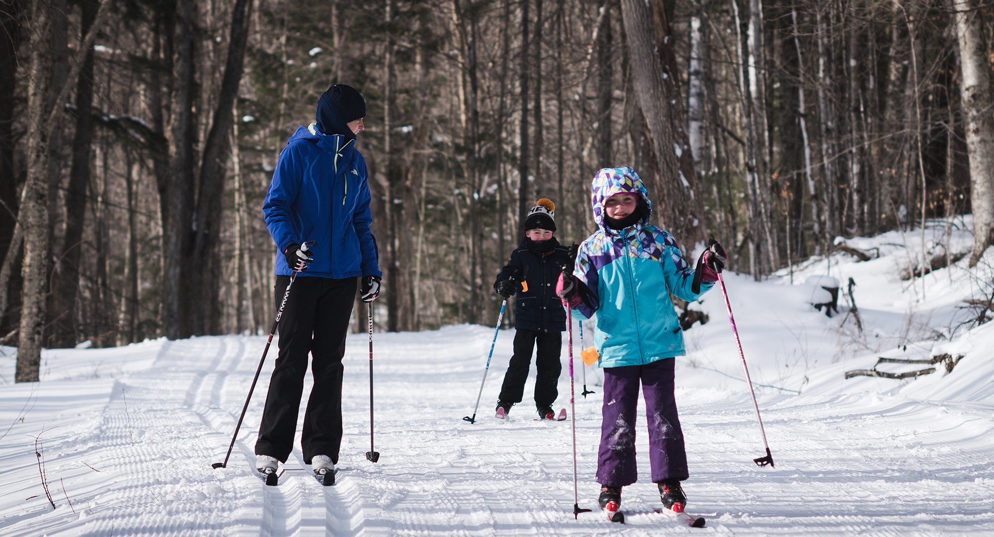 Nordic skiing in Stowe, Vermont